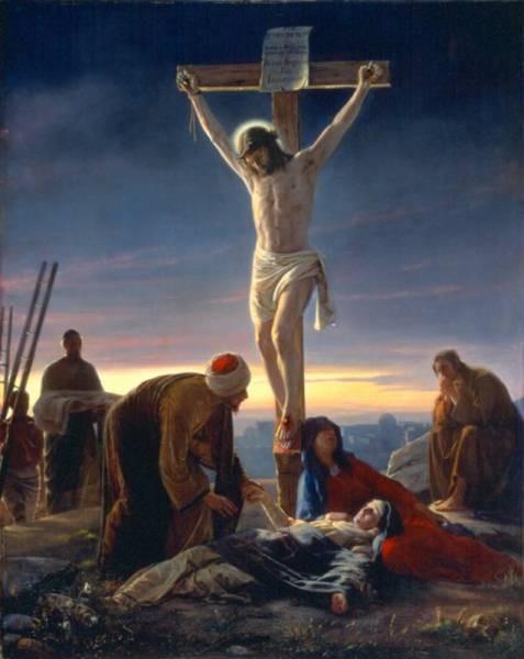 Carl Heinrich Bloch The Crucifixion